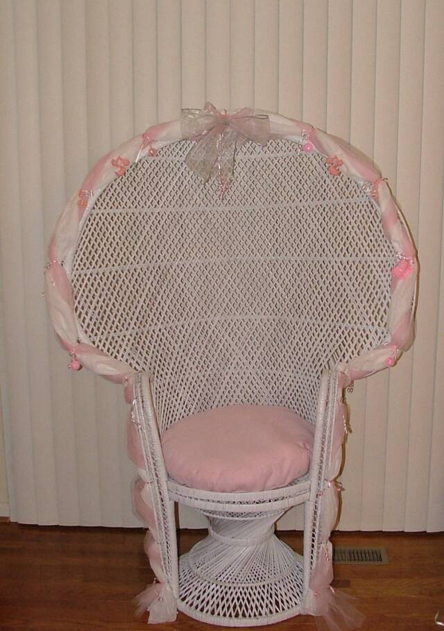 Bridal/Baby Shower Chair