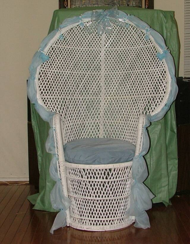 bridal baby shower chairs